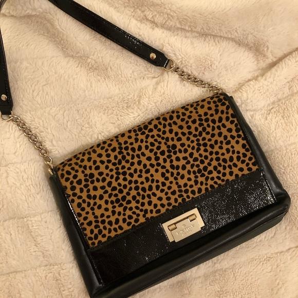 kate spade Handbags - Kate Spade ♠️ Cheetah shoulder bag